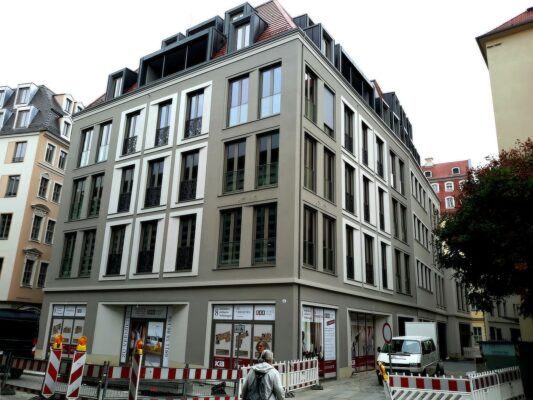 Renovácia fasády Moritzhouse, Drážďany, Nemecko | Wall Systems - špecialisti na fasády